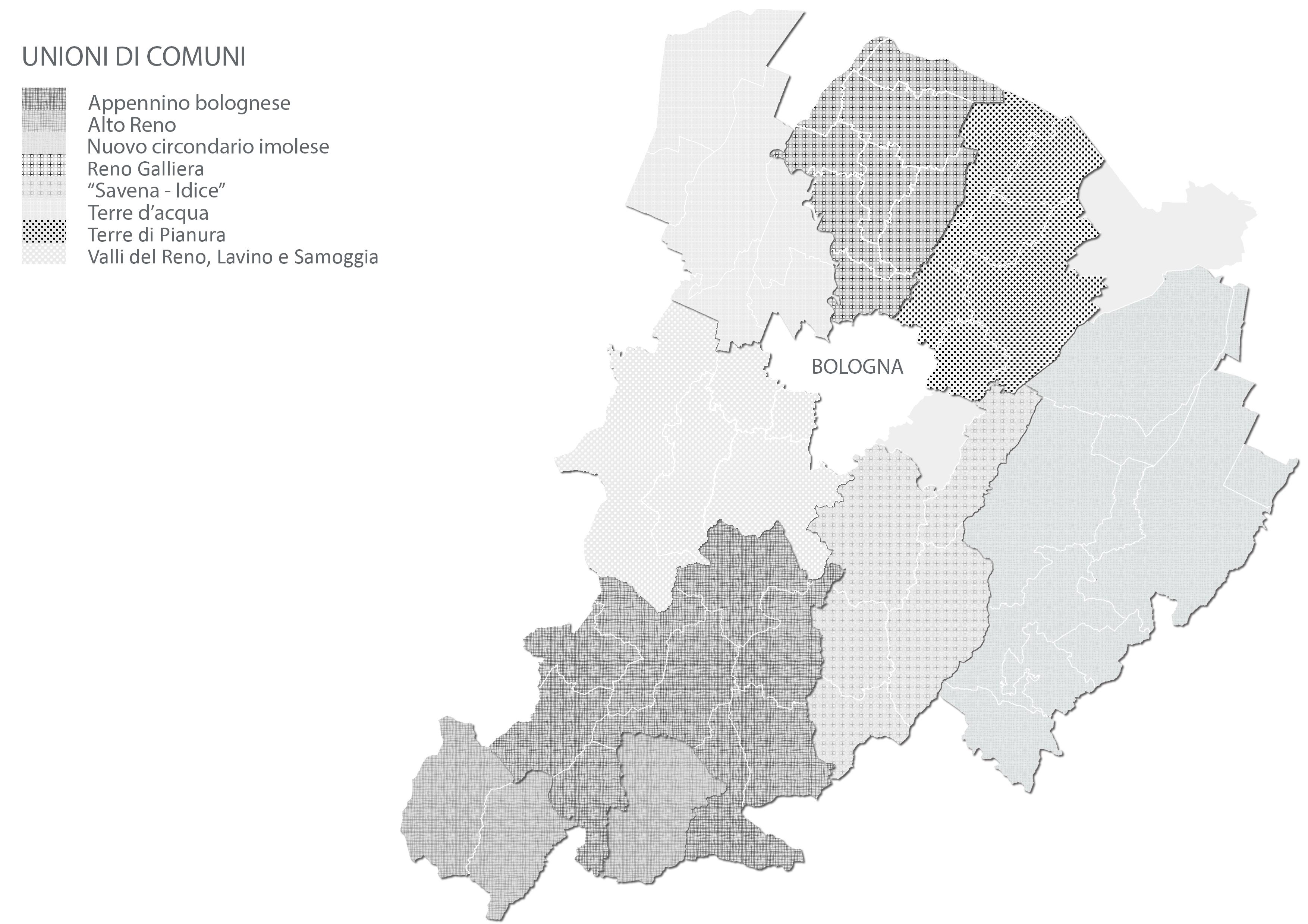 Città Metropolitana di Bologna - Unioni di Comuni