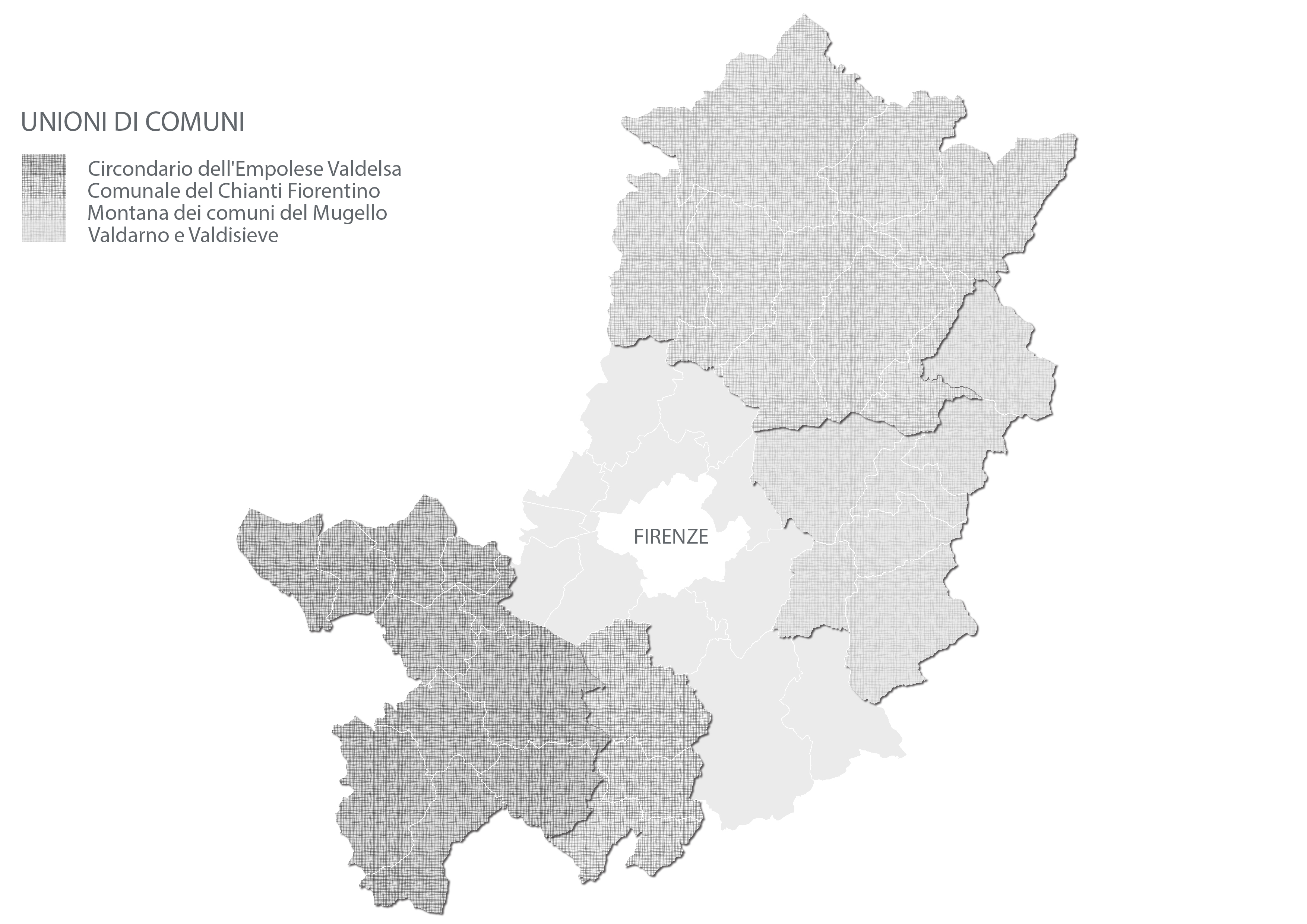 Città Metropolitana di Firenze - Unioni di Comuni