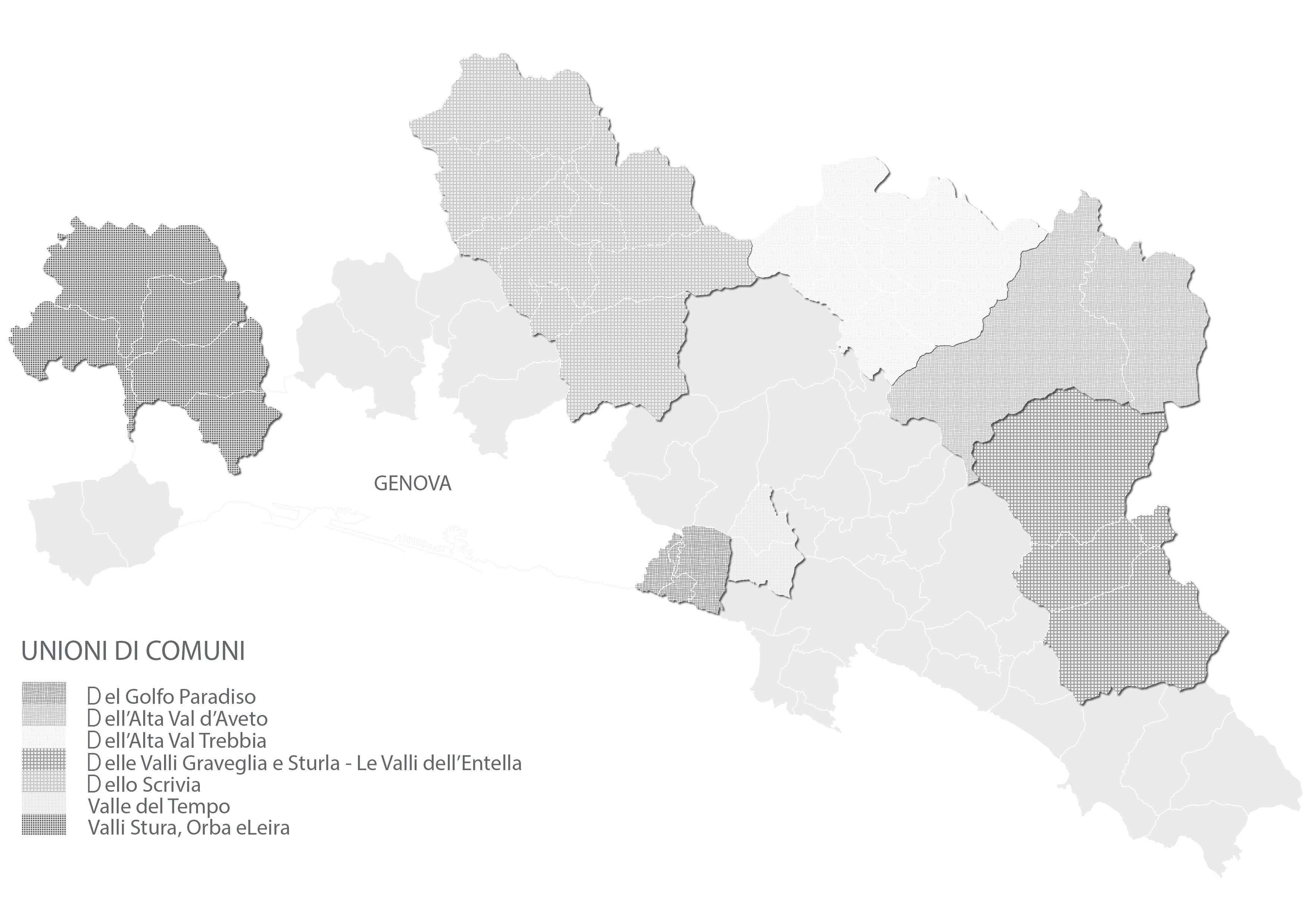 Unioni di Comuni - Città Metropolitana di Genova
