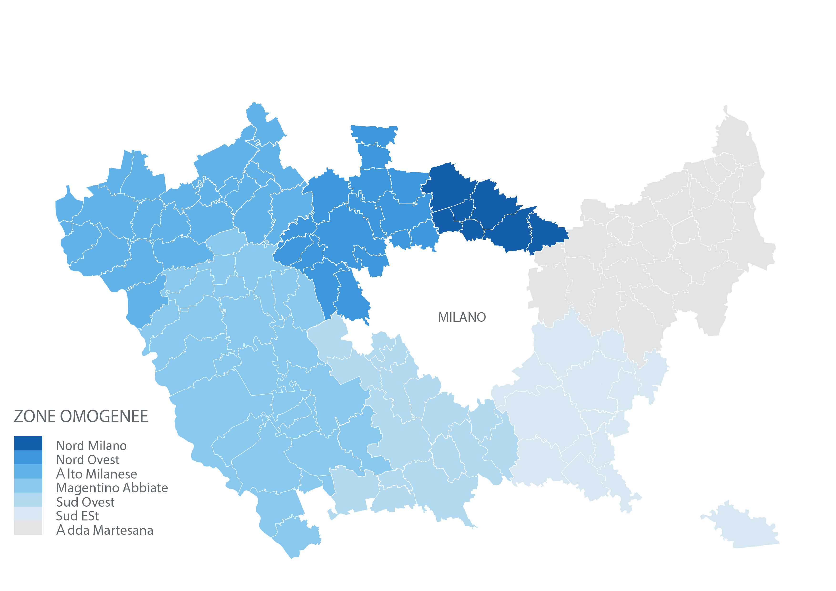 Zone Omogenee - Città Metropolitana di Milano