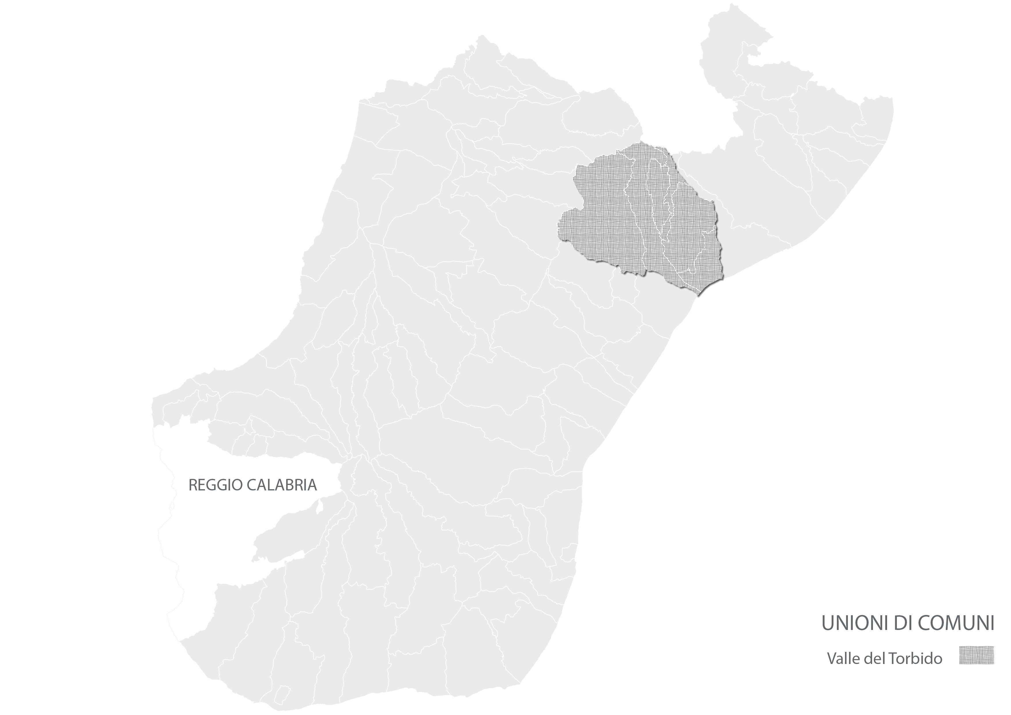 Città Metropolitana di Reggio Calabria- Unioni di Comuni