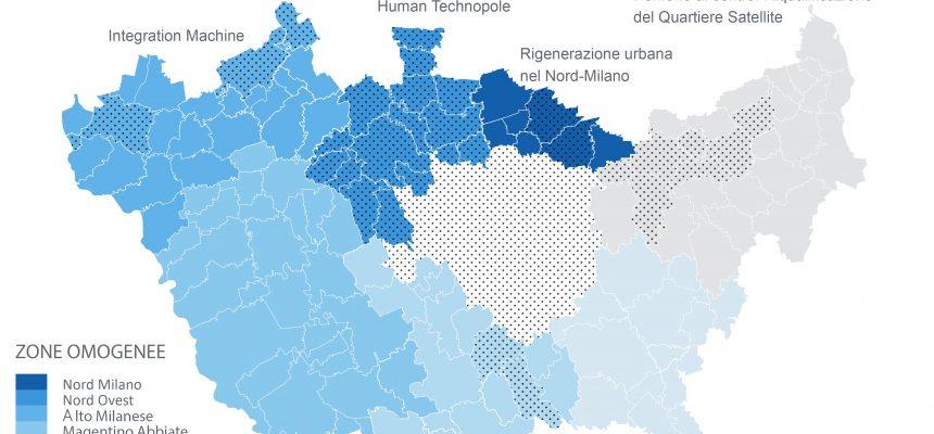 Città metropolitana di Milano - Comuni interessati dal Programma